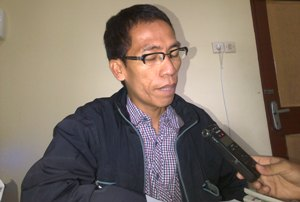 Komisioner KPU Jember Ahmad Hanafi, SE