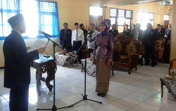 Unirow Tuban Resmi Miliki Rektor Baru.