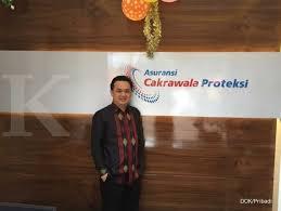 Vice President Director Asuransi Cakrawala Nicolaus Prawiro