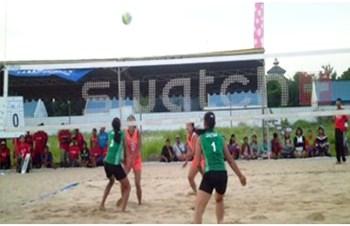 Bola Voli Pantai Pelajar Ajang Cari Bibit Muda