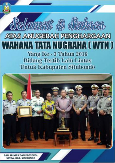 Kabupaten Situbondo Raih Wahana Tata Nugraha