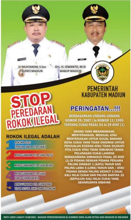 Stop Peredaran Rokok Ilegal
